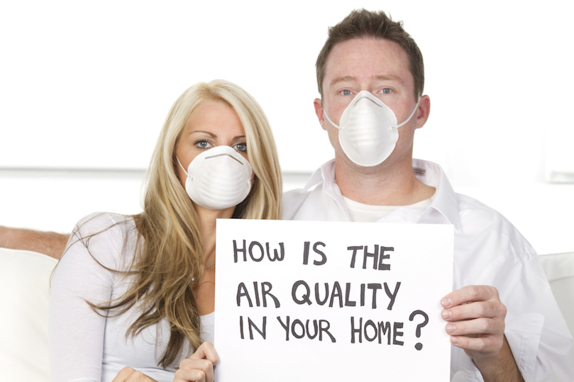 Polluted air in home ruins this couple's quality of life